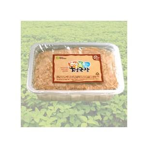 행복한하루 생청국장(찌개)/국내산 백태 99%, 국산천일염 1%/800g