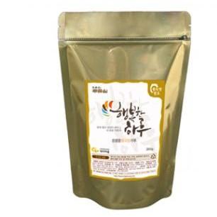 행복한하루 검정콩(약콩)청국장 가루/국내산 쥐눈이콩(서목태)/350g