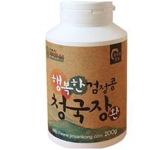 약콩/행복한청국장 환/서목태,검정쌀(모두 국내산)/200g